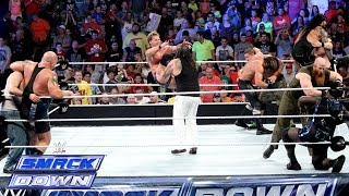 getlinkyoutube.com-10-Man Tag Team Match: SmackDown, Sept. 5, 2014