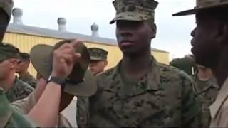 getlinkyoutube.com-US Marine Corps Drill Instructor vs US Army Drill Sergeant