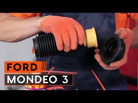 Инструкция: Как да сменим ремонтен комплект за опората на стойката на амортисьора наFORD MONDEO 3