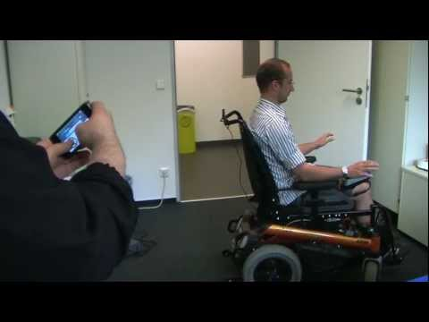 Brain and eye controlled intelligent wheelchair.