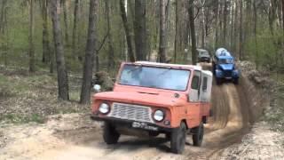 getlinkyoutube.com-Вюнсдорф 2012, Урал Татра ГАЗ-69 УАЗ-469 БМП-1 ЛУАЗ ГАЗ-63 ЗИЛ