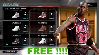 getlinkyoutube.com-NBA 2k16 PS4 Mypark How To Get Your Customize Shoes For Free