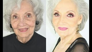 getlinkyoutube.com-Maquillaje para Abuelas Piel Madura
