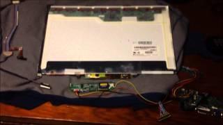 getlinkyoutube.com-DIY Re-use Old LCD Laptop Display