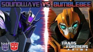 getlinkyoutube.com-Transformers Prime: The Game - Soundwave Vs. Bumblebee
