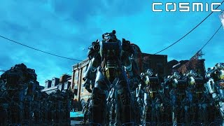 getlinkyoutube.com-FALLOUT 4 BATTLE #5 - 1000 Super Mutant Behemoth VS. 100 Brotherhood Of Steel