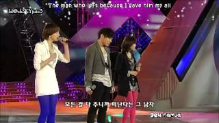 getlinkyoutube.com-Davichi & Wheesung - That Man That Woman LIVE [eng sub+kara]