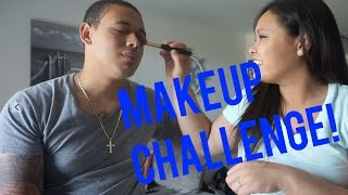 getlinkyoutube.com-MAKEUP CHALLENGE! -#MIGHTYDUCK