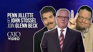 getlinkyoutube.com-Penn Jillette discusses health care on FOX's Glenn Beck