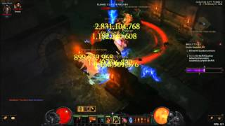 getlinkyoutube.com-Diablo 3 RoS - PTR 2.4 - Lightning Frenzy + LoN 800%dmg GR70