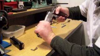 getlinkyoutube.com-How to clean and lubricate a 1911 pistol.