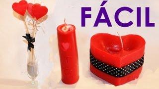 getlinkyoutube.com-COMO HACER VELAS DECORATIVAS, 3 Ideas fáciles y rápidas para hacer velas | Velas caseras aromáticas