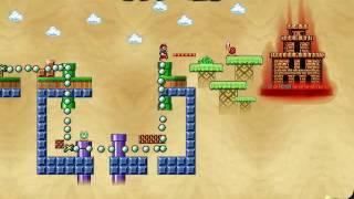 getlinkyoutube.com-Mario Worker Remake v2.5 - Demo scenario with map [PREVIEW]