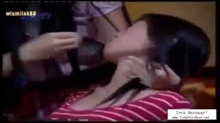 getlinkyoutube.com-Indonesian rope bondage and tapegag