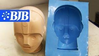 getlinkyoutube.com-How to: Silicone Mold & casting Flexible Foam