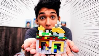 getlinkyoutube.com-MUNDO MINECRAFT NA VIDA REAL!! (Lego Minecraft)