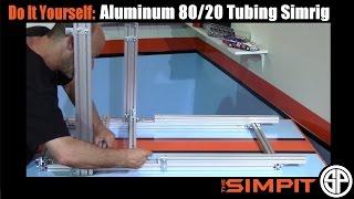 getlinkyoutube.com-DIY Aluminum 80/20 Tubing Simrig by The Simpit