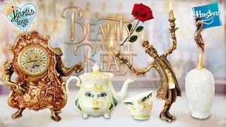 Beauty and The Beast - Castle Friends Collection Figurine Set Review | Disney Hasbro