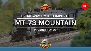 """getlinkyoutube.com-HO scale Broadway Limited Imports 4-8-2 """"Mountain"""""""