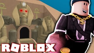 STEALING GOLD FROM AN EGYPTIAN TEMPLE?! (Roblox)