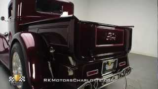 132977 / 1930 Ford Model A Pickup