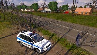 getlinkyoutube.com-Euro Truck Simulator 2 - Mapa Russia : Policia