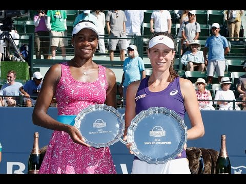 2016 Bank of the West Classic Final WTA Highlights | Johanna Konta vs Venus Williams