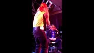 getlinkyoutube.com-Hulk Hogan crashes the Roast of The Iron Sheik in Hamilton - November 8, 2013.