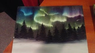 getlinkyoutube.com-Painting The Northern Lights (The Salem Painter   Ep 03)