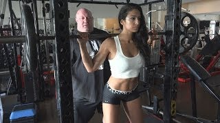 getlinkyoutube.com-Scot Mendelson Trains Valia Ayyar on The Squat