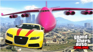 getlinkyoutube.com-AWESOME GTA 5 STUNTS & FAILS (Funny Moments Compilation)