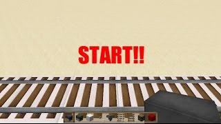 【Minecraft】 30秒でつくれる半自動駅 【ゆっくり解説】