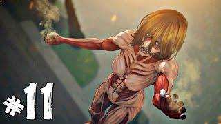 getlinkyoutube.com-[Attack on Titan : Part11] จุดจบไททั่นหญิง ที่เห็นแล้วแข็ง!! [END Season1]