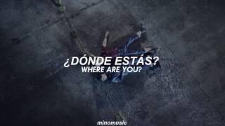 네시 (4 O'CLOCK)   V & Rap Monster (Sub. Español // Eng Lyrics) [BTS / FMV]