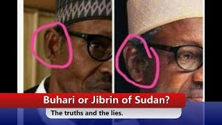 Buhari or Jibrin from Sudan? The Truths And The Lies