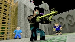 """Minecraft Song and Minecraft Animation """"Castle Raid 1"""" Minecraft Song by Minecraft Jams"""