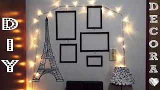 getlinkyoutube.com-DIY- Decora tu cuarto (Torre Eiffel/ Marcos decorativos/ Lampara) Parte 1