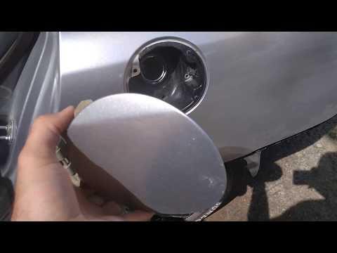 Снятие лючка бензобака Honda Civic VIII 4D