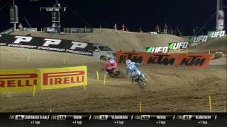 getlinkyoutube.com-2017 MXGP of Qatar MX2 Race 1 Paturel & Jonass battle for the first place