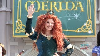 getlinkyoutube.com-Merida becomes 11th Disney Princess in coronation ceremony at Walt Disney World