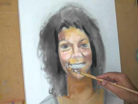 Videos youtube manuel dominguez pintando un retrato a - Retrato oleo paso a paso ...