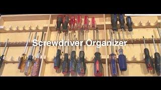 getlinkyoutube.com-Screwdriver Organizer