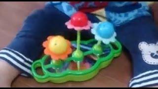getlinkyoutube.com-Shimajiro Flower Toy しまじろう おもちゃ ゆらゆらふしぎフラワー  がたのしい!