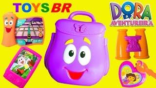 getlinkyoutube.com-TOYSBR Mochila Surpresa da Dora a Aventureira em Portugues BR | Dora the Explorer Backpack Surprise