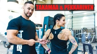 getlinkyoutube.com-Tomi Takamaa & Satu Pekkarinen | Selkä-tutorial | TAFFER