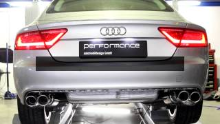 getlinkyoutube.com-Audi A6/A7 with performance flap exhaust system by cargraphicTS