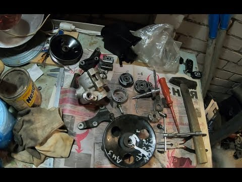 Установил насос гур от Кайрона дизель на Тагаз Тагер 2.3 бензин