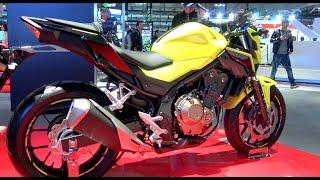 EICMA 2015: HONDA CB 500 F ABS (VIDEO BEST 4K)