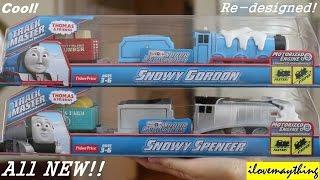 getlinkyoutube.com-All New Thomas Trackmaster: Snowy Gordon and Snowy Spencer (Preview)