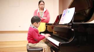 Toddlers Play Piano